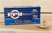 PPU AMMUNITION Ammunition 380 AMMO